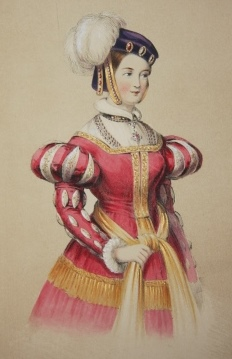 Image for Costumes of British Ladies from the time of William the 1st to the reign of Queen Victoria