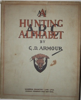 Image for A Hunting Alphabet