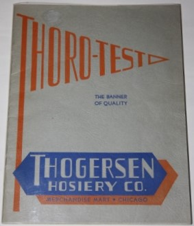 Image for Thorgersen Hosiery Co. Thoro-Test Trade Catalogue Leading Styles for Fall and Winter 1937