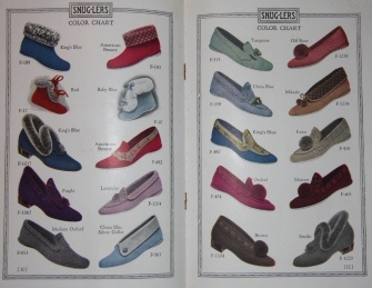 Image for Snug-lers Felt Footwear 1924