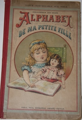 Image for Alphabet de ma Petite Fille.  Illustre de 6 Gravures en Chromo Bibliotheque des Bebes.  Album Indechirable sur Toile