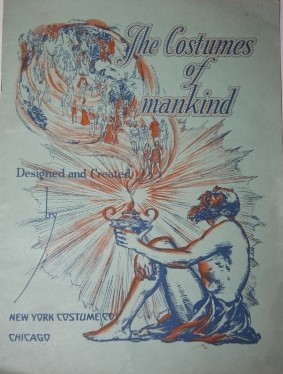 Image for The Costumes of Mankind Designed and Created New York Costume Co.