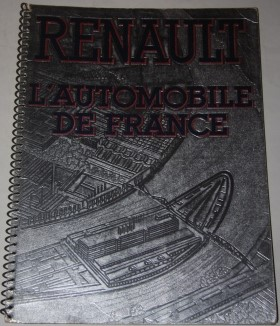 Image for Renault.  L'Automobile de France