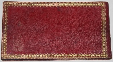 Image for Full Morocco Late 18th Century Daily Notebook and Slipcase