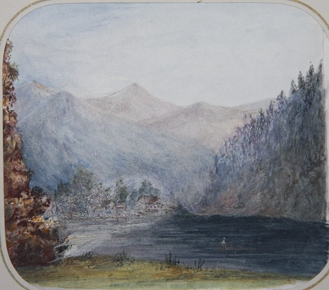 Image for Album of Twenty Small Swiss Watercolored Views