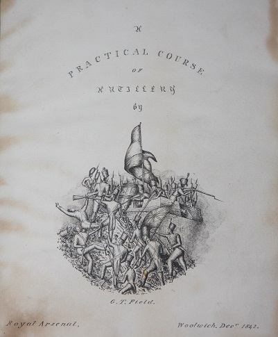 Image for A Practical Course of Artillery